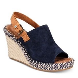 Toms Monica Wedge NEW 8.5